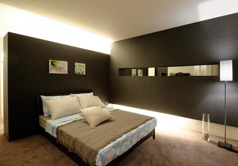 6.ラグジュアリーな寝室